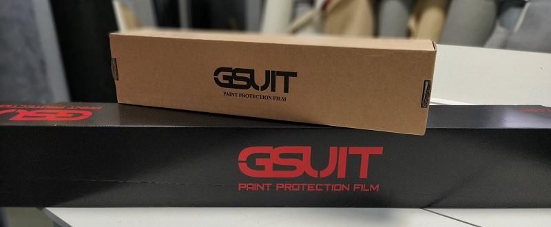Gsuit - антигравийная плёнка для авто